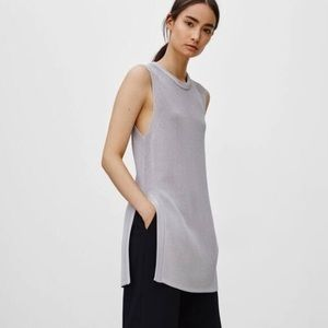 Aritzia Wilfred Knit Sleeveless Sweater